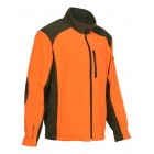 Blouson polaire orange/kaki Cor Percussion