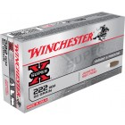 WINCHESTER 222REM. POINTED SOFT POINT 50G.*
