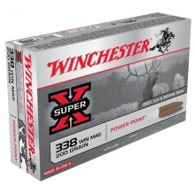 WINCHESTER 338WM POWER POINT 200G.