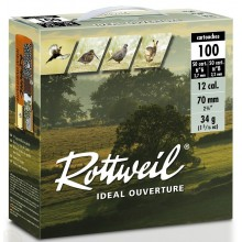 Rottweil Ideal Ouverture C.12/70 34g pack de 100*