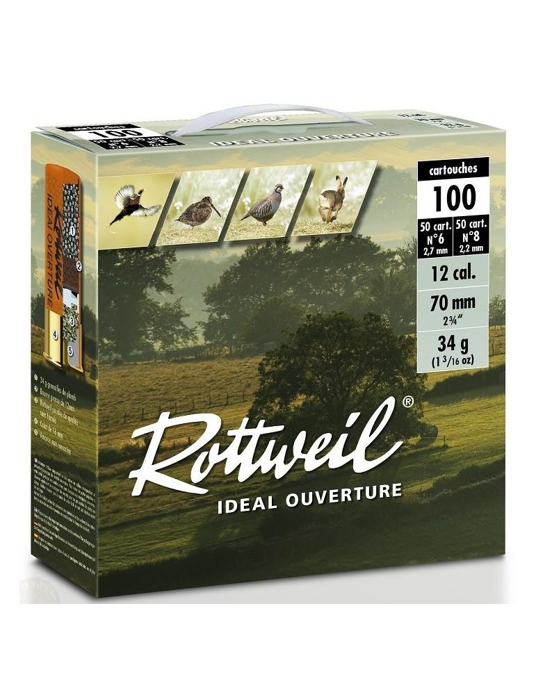 Rottweil Ideal Ouverture C.12/70 34g pack de 100