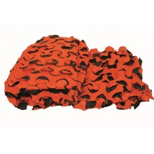 Filet de battue camo orange 3 x 1,40m fuzyon
