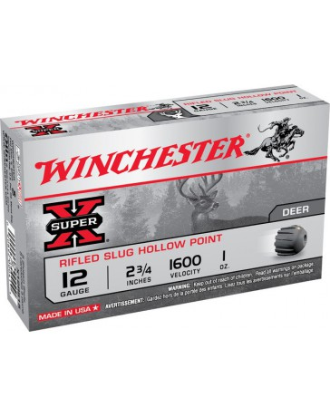 Winchester Super X Hollow Point C.12/70 cartouche à balle