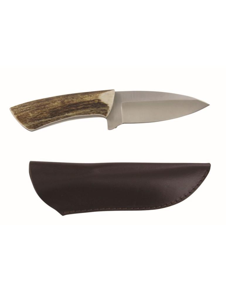 Couteau à désosser lame de 10cm manche bois de cerf