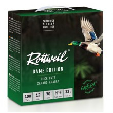 Pack Rottweil Game Edition Canard Basse Pression 12/70 32g