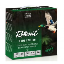 Pack Rottweil Game Edition Canard HP 12/70 34g*