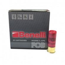 FOB Benelli C.12/70 36g cartouches chasse bourre jupe