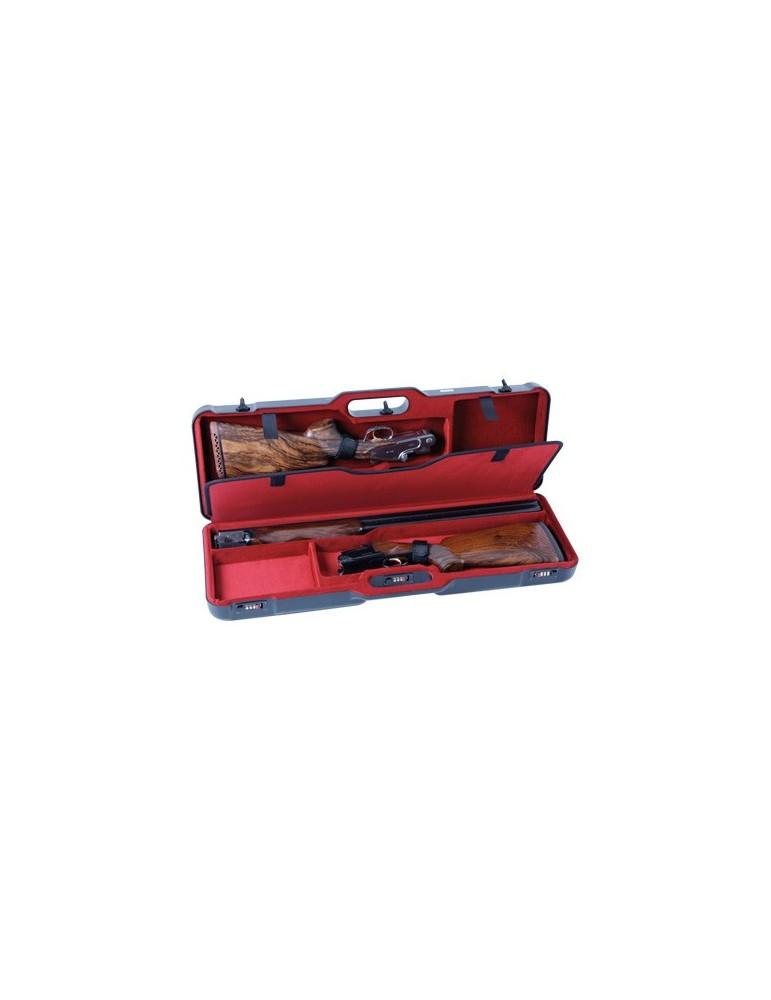 Mallette 2 fusils ABS dim 78x23x10 cm