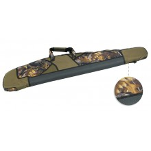 Fourreau fusil fort matelassage camo 130cm