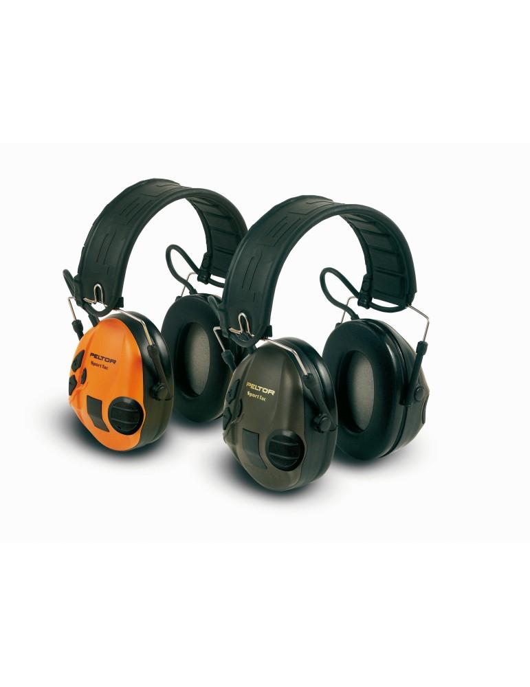 Casque antibruit actif Peltor SportTac à modulation sonore