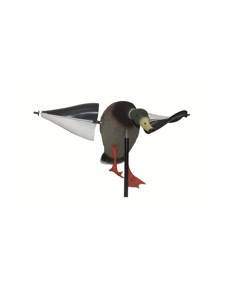 Appelant canard à ailes tournantes