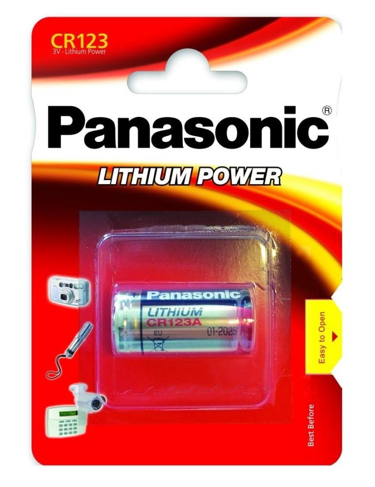 Pile Lithium CR123 Panasonic