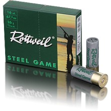 Rottweil Steel Game C.16/67.5 26g Basse Pression*