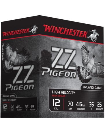 ZZ pigeon Winchester C.12 36gr. cartouches chasse*
