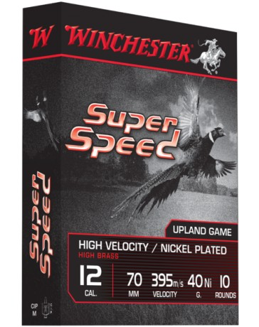 SUPER SPEED nickelé C.12/70 40gr. WINCHESTER cartouches chasse*