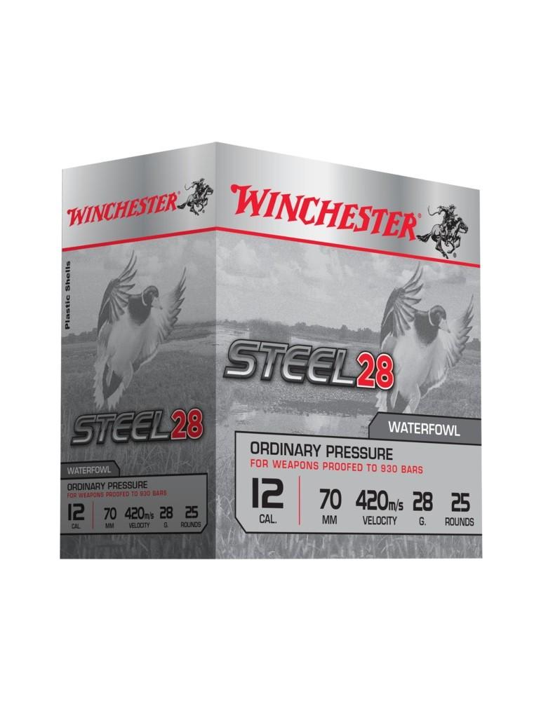 Winchester Steel 28 BP C.12/70 28g cartouche acier