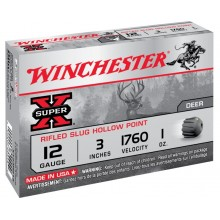 Winchester Super X Hollow Point C.12/76 cartouche à balle*