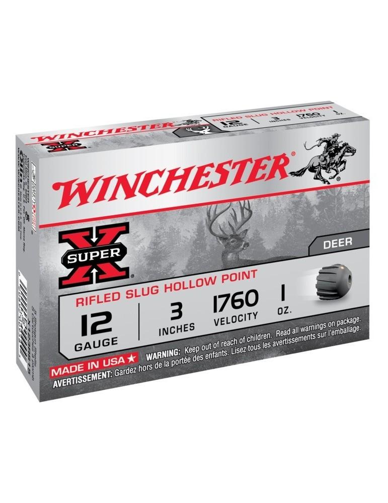 Winchester Super X Hollow Point C.12/76 cartouche à balle