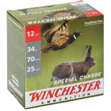 Winchester Spécial Chasse C.12/70 34g plombs nickelés*