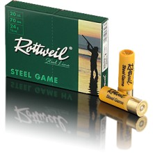 Rottweil Steel Game C.20/70 24g Basse Pression*