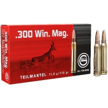 GECO .300 Win. Mag. TM demi-blindée 170 gr