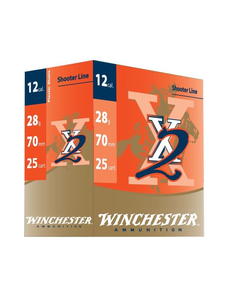 Winchester X2 C.12/70 28 g cartouche ball-trap
