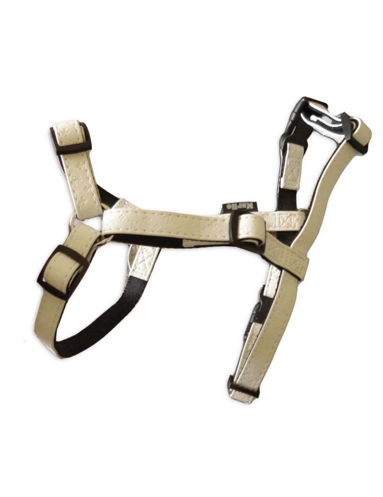 Harnais réglable Art Leather pour chien