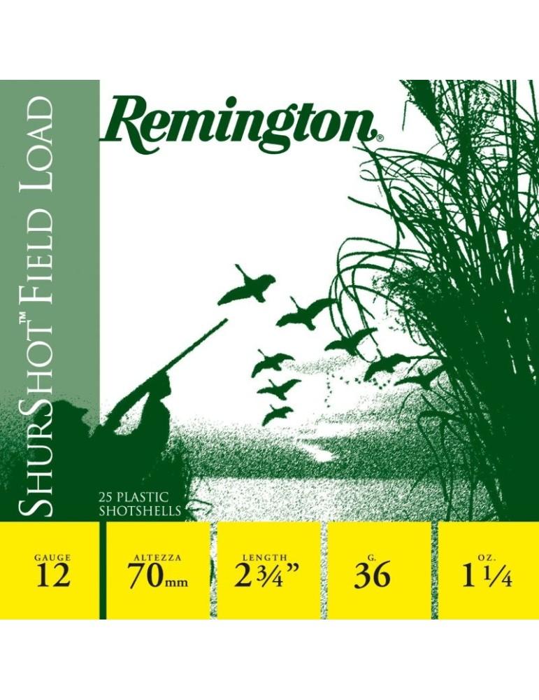 Remington ShurShot Game Load C.12/70 36g cartouche chasse