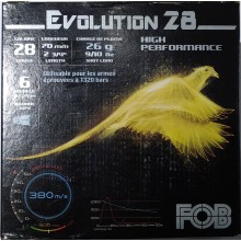 FOB Evolution C.28/70 26g à plombs nickelés