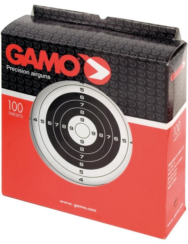 Paquet de 100 cibles cartonnées Gamo pour le tir