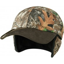 Casquette Muflon Deerhunter camo Realtree Edge réversible orange