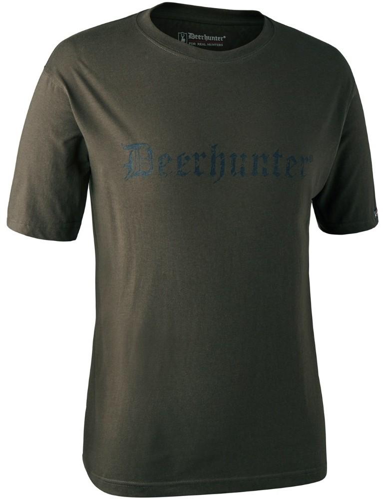 T-shirt logo Deerhunter à manches courtes