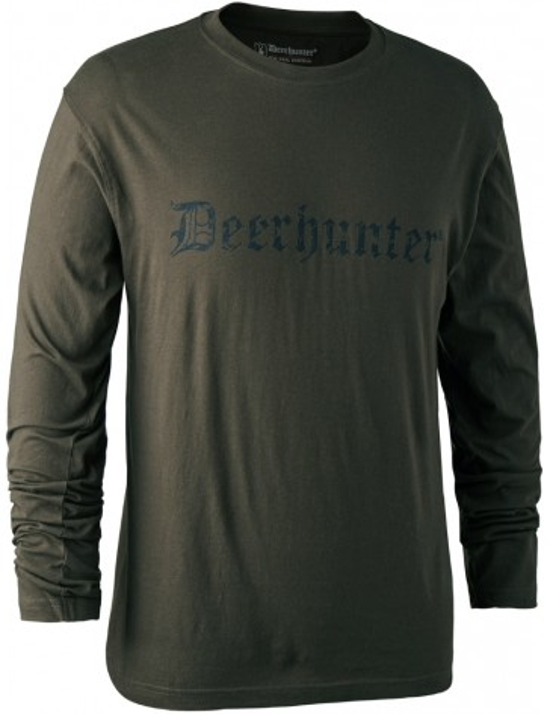 T-shirt logo Deerhunter à manches longues