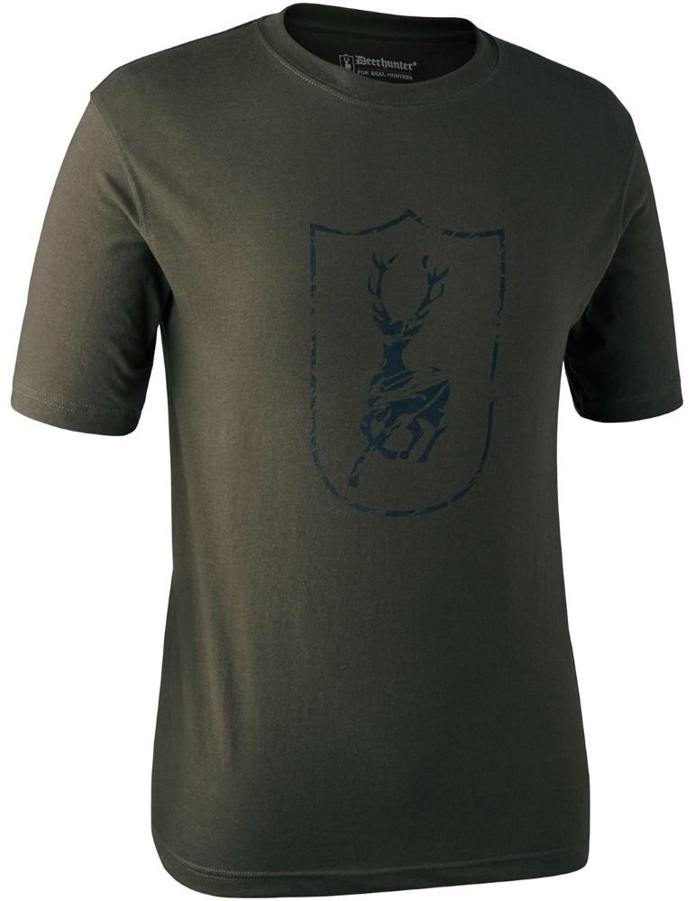 T-shirt logo cerf Deerhunter à manches courtes