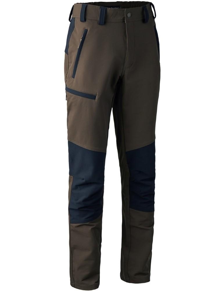 Pantalon Strike Full Stretch Deerhunter marron et noir