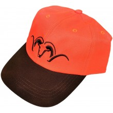 Casquette Blaser orange et marron