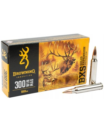 Browning BXS .300 Win. Mag. 180 gr sans plomb
