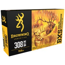 Browning BXS .308 Win. 150 gr sans plomb