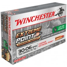 Winchester Extreme Point Copper Impact .30-06 150 gr sans plomb