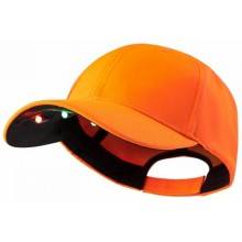 Casquette orange avec led Deerhunter