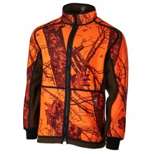 Veste polaire orange blaze Powerfleece réversible Browning