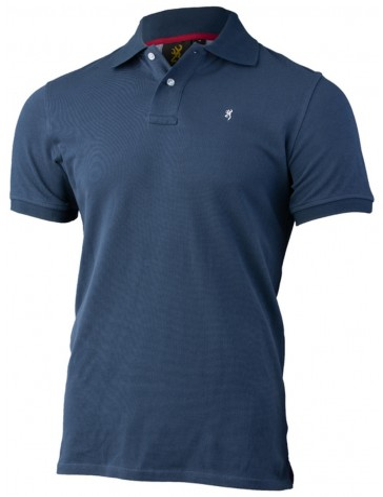Polo bleu ultra Browning