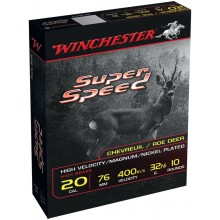 Winchester Super Speed C.20/76 32g à plombs nickelés*