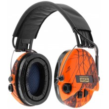 Casque audio amplifié MSA Supreme Pro-X orange
