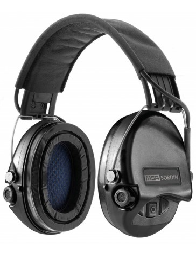 Casque audio amplifié MSA Supreme Pro noir