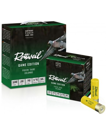 Pack Rottweil Game Edition Pigeon 20/70 30g*