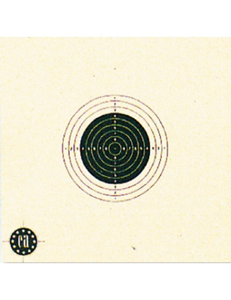 Cartons-cibles 10 x 10 cm