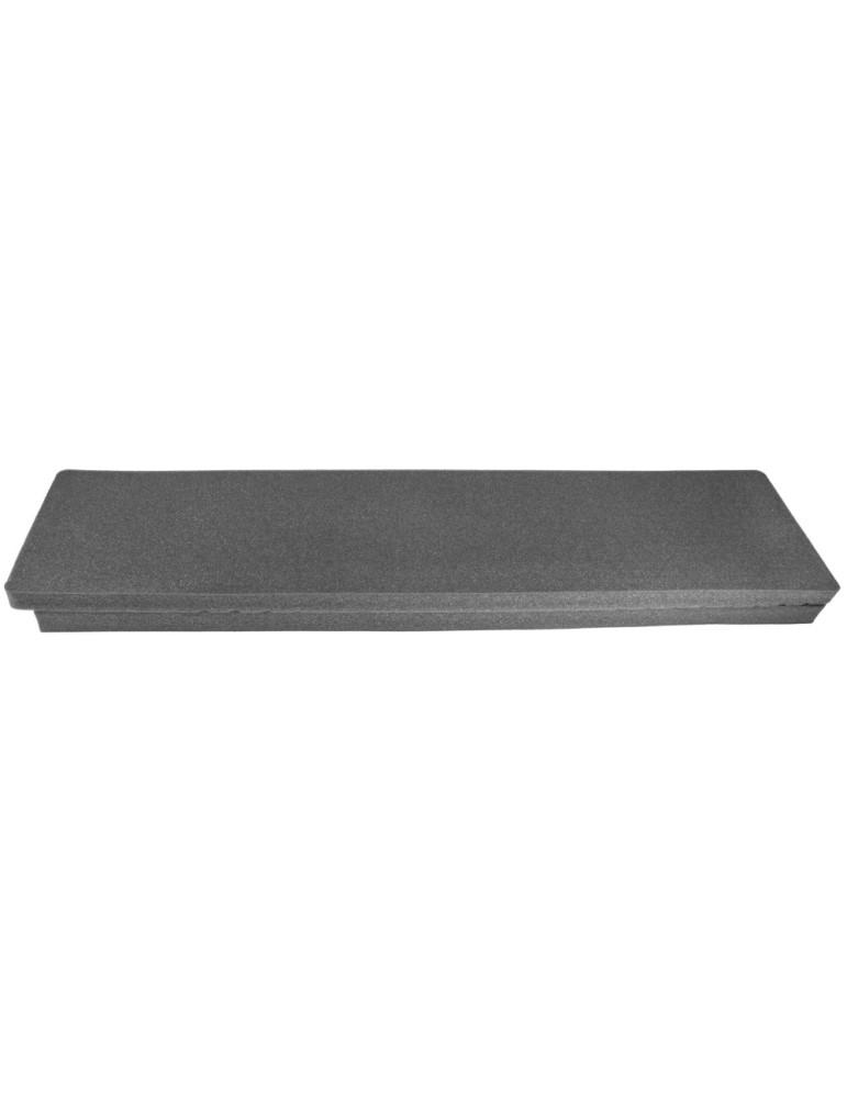 Mousse pré-découpée pour mallettes longues 10x32x130 cm