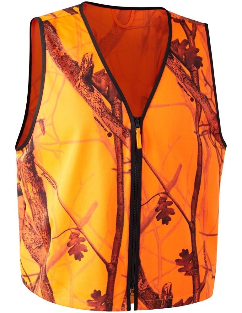 Gilet chasuble orange de sécurité Protector Deerhunter