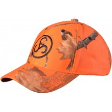 Casquette orange camo Sauer